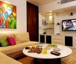 Villa Shanti: Cinema room