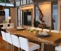 Villa Surin: Dining room