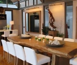 Villa Chan Grajang: Dining room