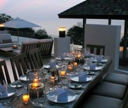 Villa Chan Grajang: Al fresco dining area