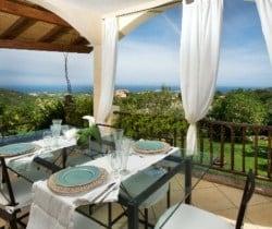Villa Perdìca: Al fresco dining area