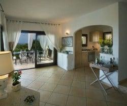 Villa Perdìca: Living area