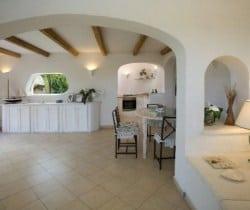Villa Perdìca: Interior