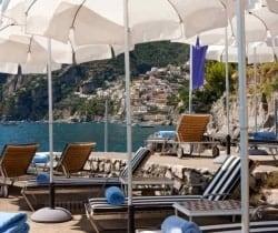 Villa Caruso: Private beach