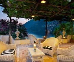 Villa Zephir: Outdoor chill out area (shared)