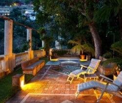 Villa Zephir: Terrace and plunge pool