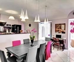Villa Peacock: Dining room