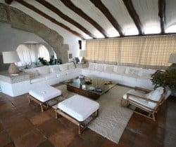 Villa Mirto: Living room