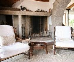 Villa Mirto: Fireplace