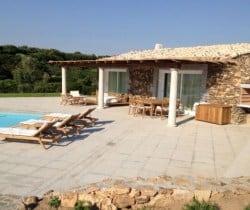 Villa Mirto: Pool house