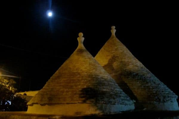 Villa Apulia: Night view
