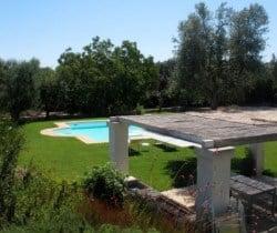 Villa Apulia: Al fresco dining area