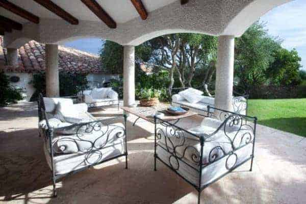 Villa Allegra: Outdoor chill out area
