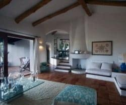 Villa Allegra: Living area