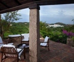 Villa Allegra: Outdoor chill out area