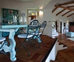 Villa Allegra: Dining area