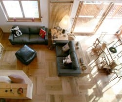 Cesa de Vin: Living area