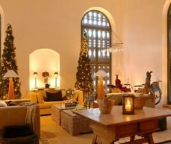 Chesa Albertini: Living room