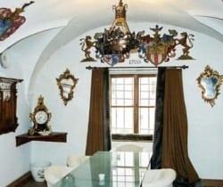 Chesa Albertini: Dining room