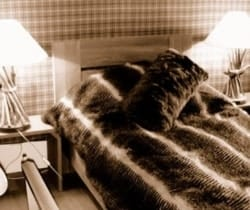Chesa Albertini: Bedroom