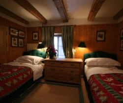 Chalet Belair: Twin bedroom