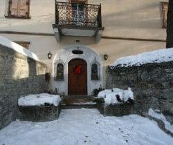 Chalet Belair: Entrance