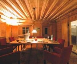 Chesa Lapunt: Dining room