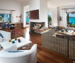 Villa Aqua: Living area