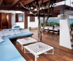 Villa Aqua: Al fresco dining area