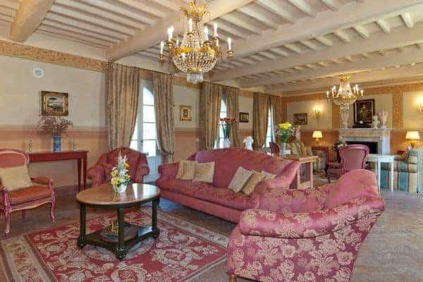 Borgo Bergenia: Living room