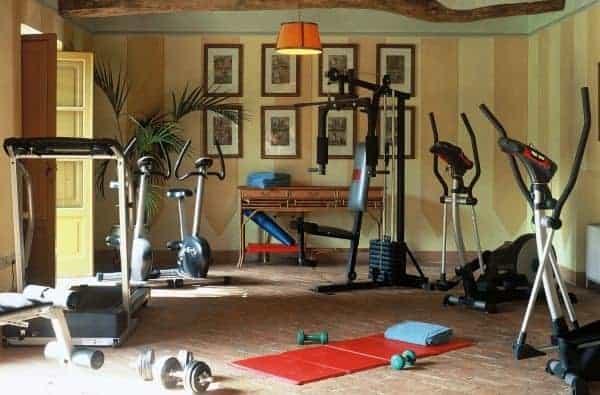 Borgo Bergenia: Fitness room