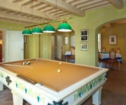 Borgo Bergenia: Billiard and card room