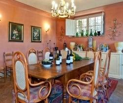 Borgo Bergenia: Wine tasting room