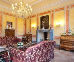 Villa Carice: Drawing room