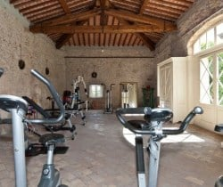Villa Carice: Fitness room