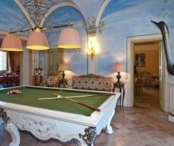 Villa Carice: Billiard room