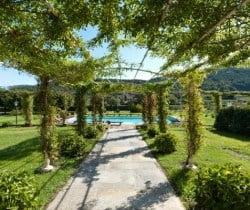 Villa Falasco: Garden