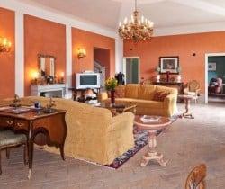 Villa Melica: Living room