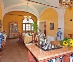 Villa Melica: Dining room