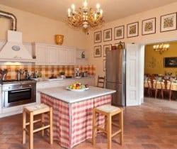 Villa Melica: Kitchen