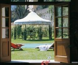 Villa Melica: Outdoor dining area