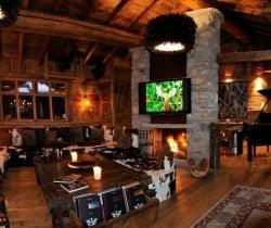 Chalet Lhotse: Living area