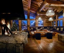 Chalet Marco Polo: Fireplace