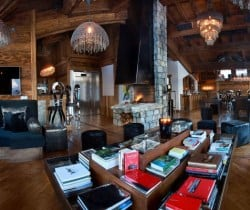 Chalet Marco Polo: Living area