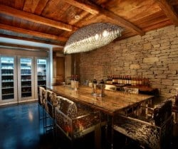 Chalet Marco Polo: Wine cellar