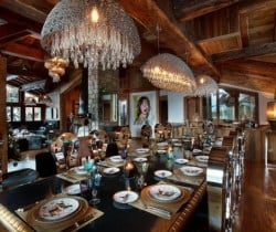 Chalet Marco Polo: Dining area