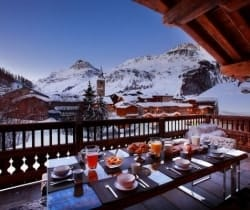 Chalet Marco Polo: Al fresco dining area
