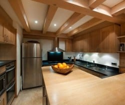 Chalet Amande: Kitchen
