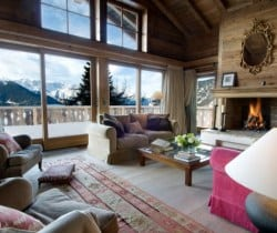 Chalet Beauty: Living room