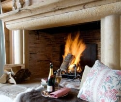 Chalet Beauty: Fireplace